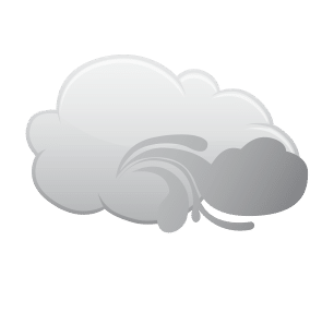 Icon representation of Partly cloudy throughout the day.